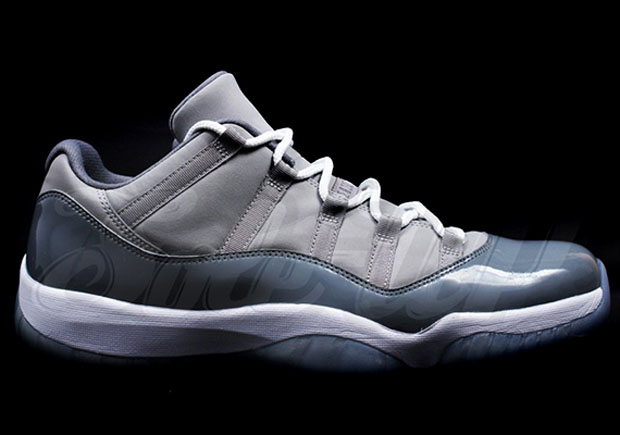 "Air Jordan 11 Low ""Cool Grey  Release Date  April 2018  175. Color  Medium  Grey Gunsmoke-White Style Code  528895-003 19a834e07"