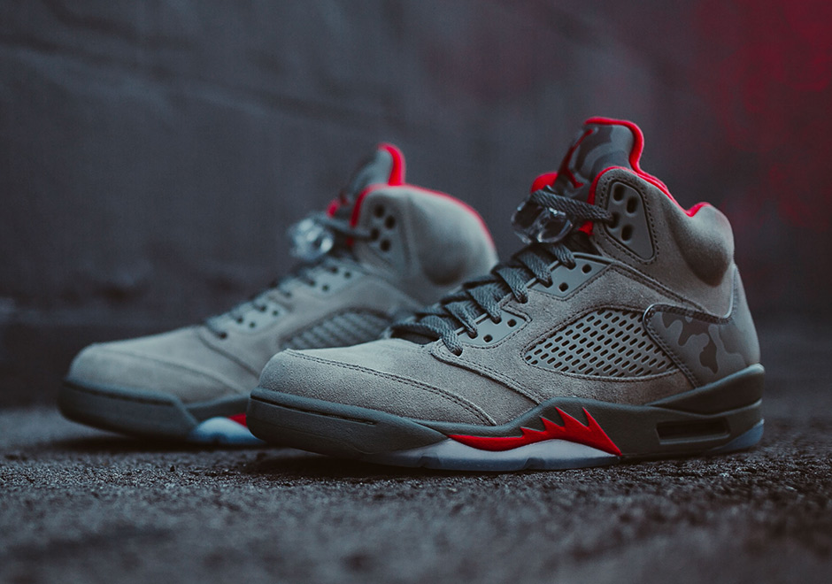 This summer s Air Jordan 5 wave have all taken inspiration from the retro  flight jackets featured in the late 80s and early 90s Jordan catalogs. 34938ac38