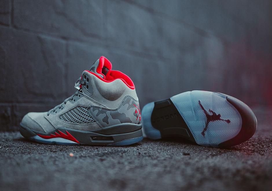 20f83d8d2a1 Jordan 5 Camo Release Date 136027-051 | SneakerNews.com