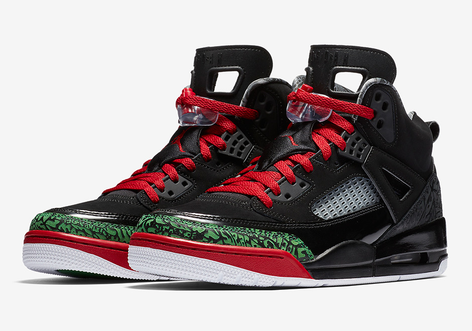 Jordan Spiz ike Black Red Green 315371-026  0d7c486f5
