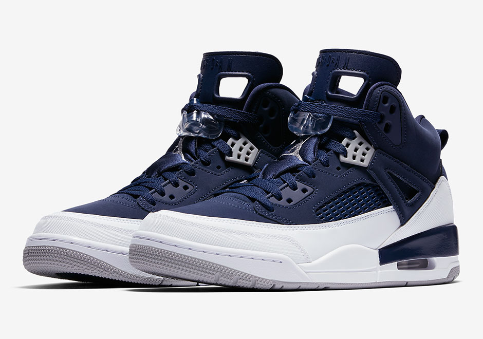 sports shoes 4692d a6245 ... reduced updated on september 25th 2017 the jordan spizike midnight navy  is available now at sneakersnstuff