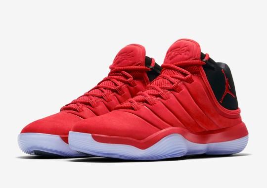 "The Jordan Super.fly 2017 Is Releasing In ""Toro"" Red"