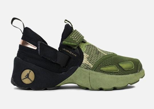 "Jordan Brand Releases Camo-Print ""Heiress"" Footwear For Girls"