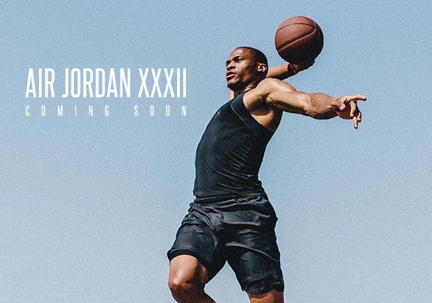 fa2c58aa7b6 Russell Westbrook And Jordan Are Already Teasing The Air Jordan XXXII