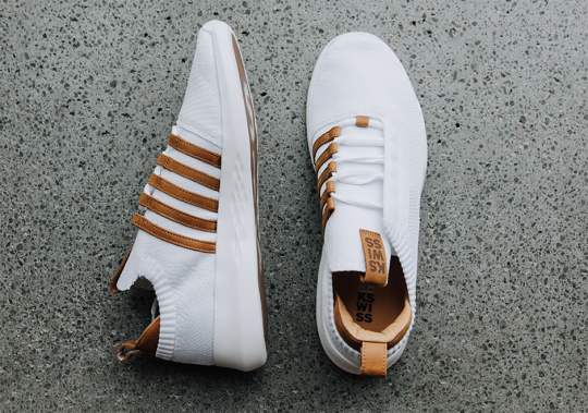 K-Swiss Introduces The Icon Knit Featuring Woven Upper And Premium Leather