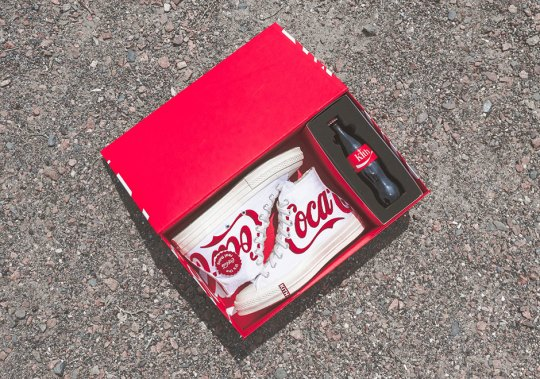 KITH x Coca Cola x Converse Chuck Taylor 1970s Releases This Friday