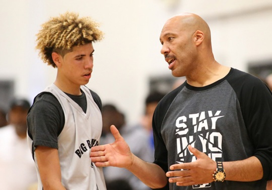 LaVar Ball Doesn't Care If LaMelo's New Shoe Makes Him Ineligible to Play In College