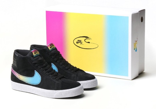 """be9e203714a6 Lance Mountain x Nike SB Blazer """"Swimming Pools"""" Comes With Special Edition  Box"""