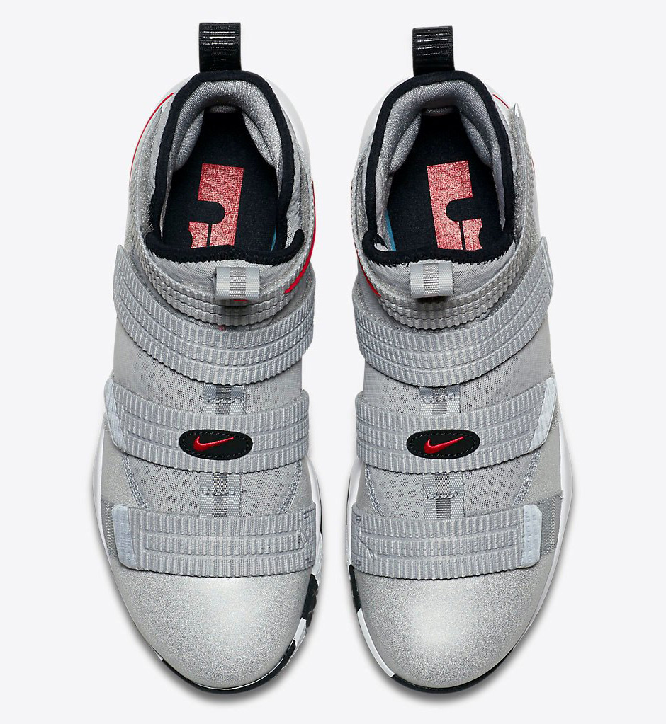 7aa72fc96d7 Nike LeBron Soldier 11 Silver Bullet