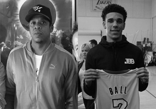 Lonzo Ball Thanks Jay-Z For Buying His Big Baller Brand Shoes