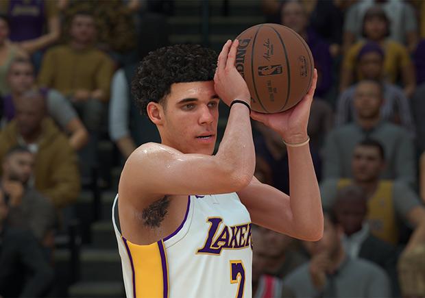 Apéndice paz juicio  Lonzo Ball's Big Baller Brand Signature Shoe To Be In NBA 2K18 - Gov