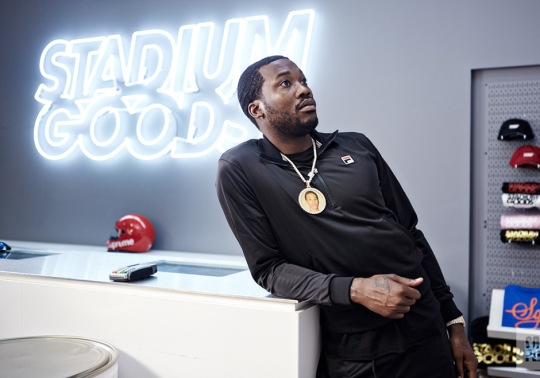Meek Mill Talks About Idolizing Allen Iverson, Life After PUMA & More While Sneaker Shopping At Stadium Goods