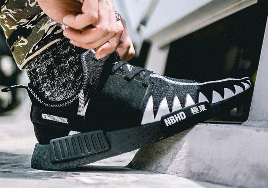 A Closer Look At The Neighborhood x adidas NMD R1