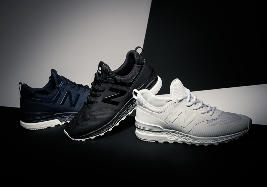 """Where To Buy The New Balance 574 Sport """"Mesh"""" Pack"""