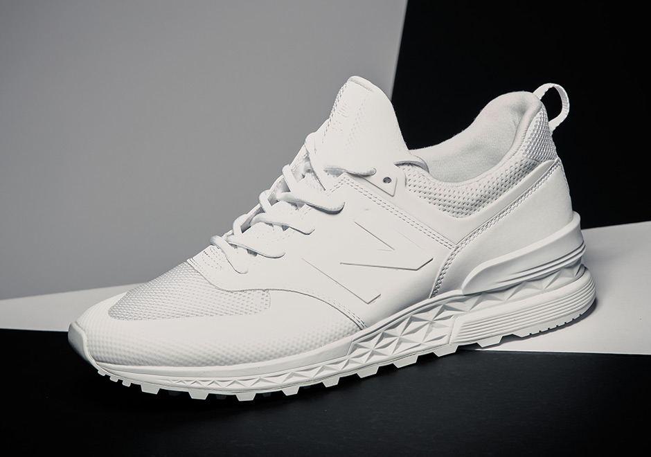 new balance 574 sport homme blanche