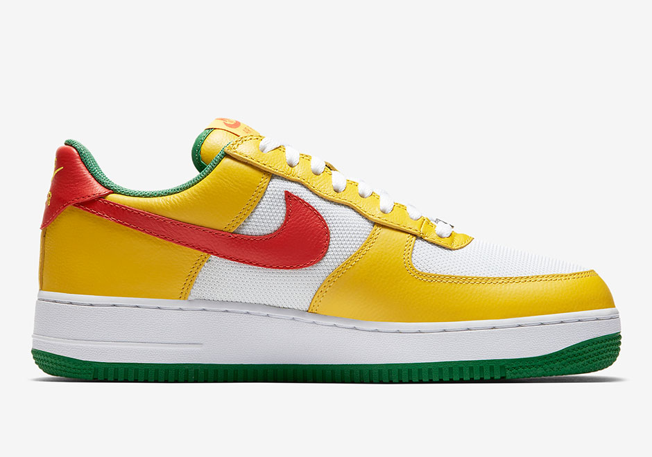 Nike Air Force 1 Low Carnival Release Date 845053-800 845053-700 ... 2c869611c7