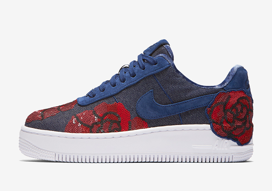 nike air force 1 low floral sequin pack release date. Black Bedroom Furniture Sets. Home Design Ideas