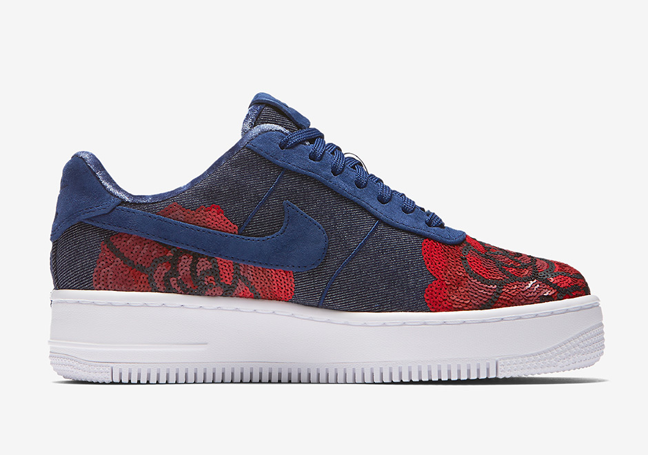 "buy online 3bf70 d4b04 Nike Air Force 1 Low ""Floral Sequin"" Pack Release Date September 1st, 2017"