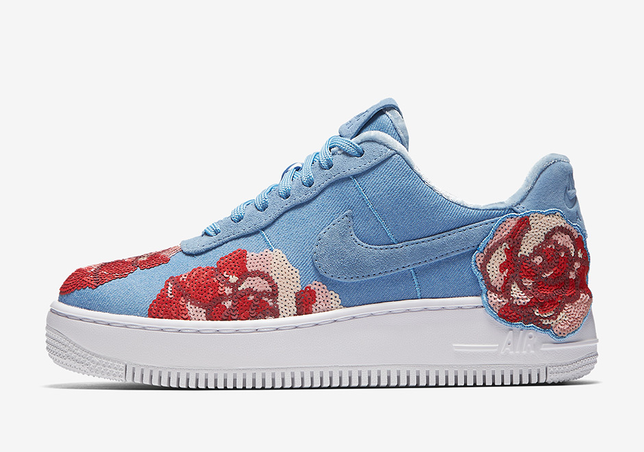 women nike air force floral