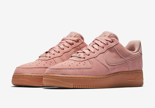Nike Proves Pink Is Still In For Fall 2017 With New Air Force 1 Low Colorway