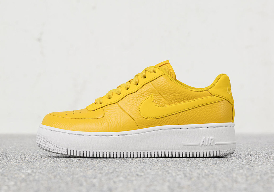 regard détaillé f35d2 2bbd3 Nike Air Force 1 Low Upstep Bread & Butter | SneakerNews.com