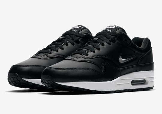 Nike Air Max 1 SC Jewel In Black And Silver Releases Next Week