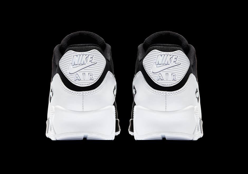b14b08ec0b87c9 Nike Air Max 90 White Black 537384-082