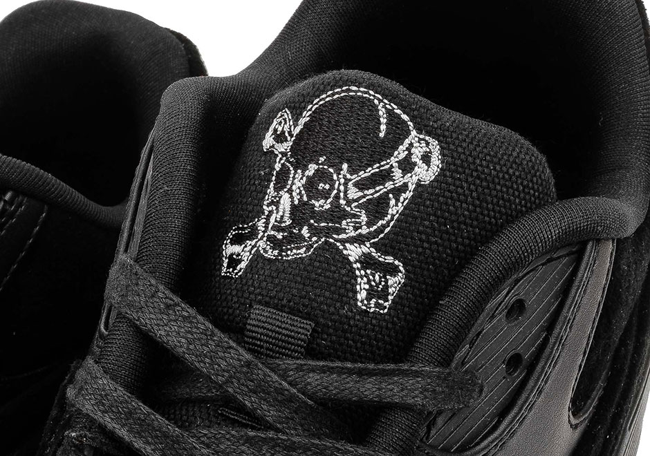 "factory price c4273 8e2d9 It looks like the ""Rebel Skulls"" motif is getting a full-blown Air Max pack,  as we spot a third sneaker sporting the grim look to go along with the Air  Max ..."