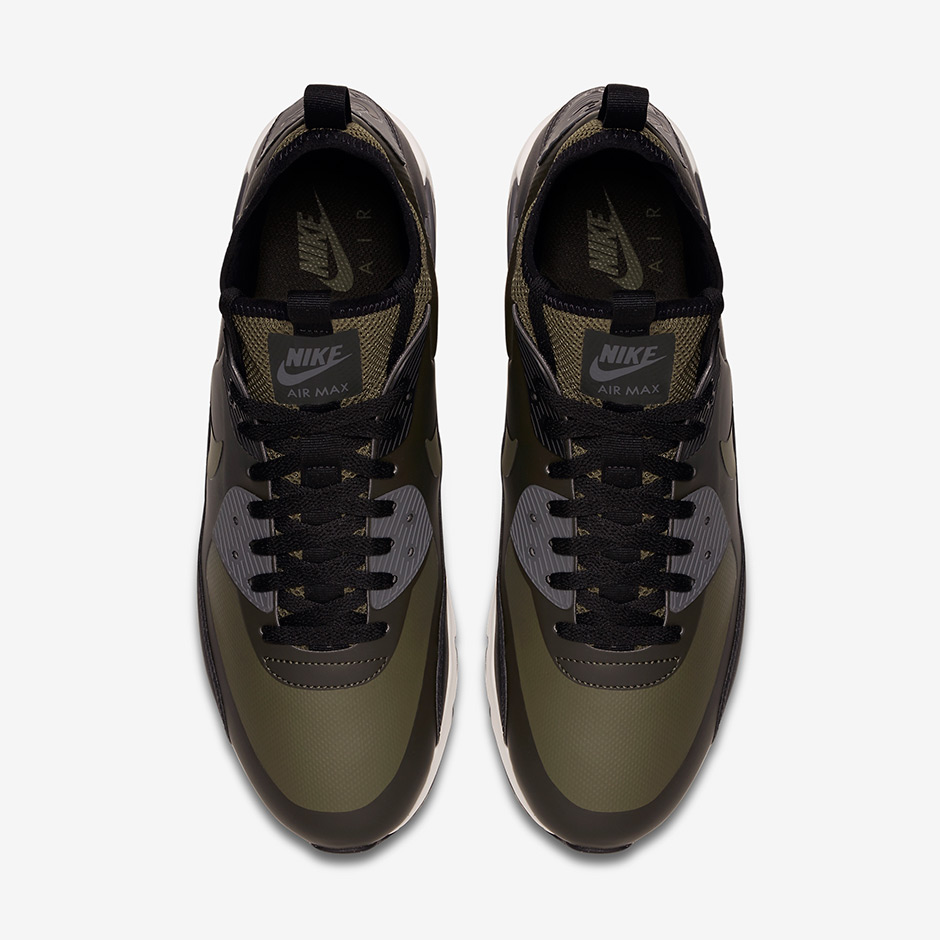 Air Max 90 Sneakerboot Olive rrxe9QKcaX