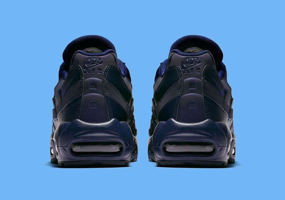 Nike Air Max 95 Azul Marino Y Negro 1TD2wEVR