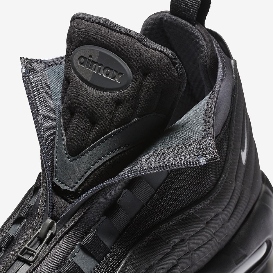 more photos 4dadb 5b413 Nike Air Max 95 Sneakerboot Triple Black 806809-001 ...