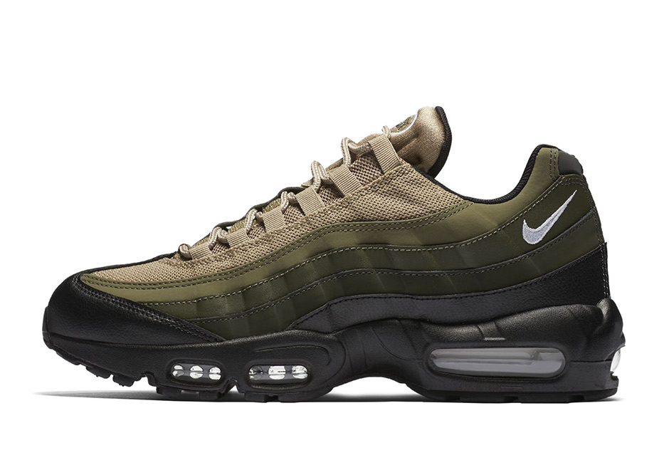 181bd361e1537 Nike Air Max 95 Tonal Olive Fall 2017 | SneakerNews.com