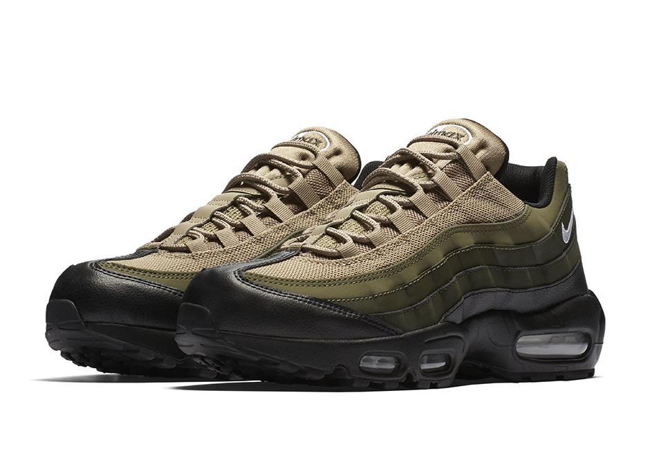 outlet store d2f52 f3edb Nike Air Max 95 Tonal Olive Fall 2017   SneakerNews.com