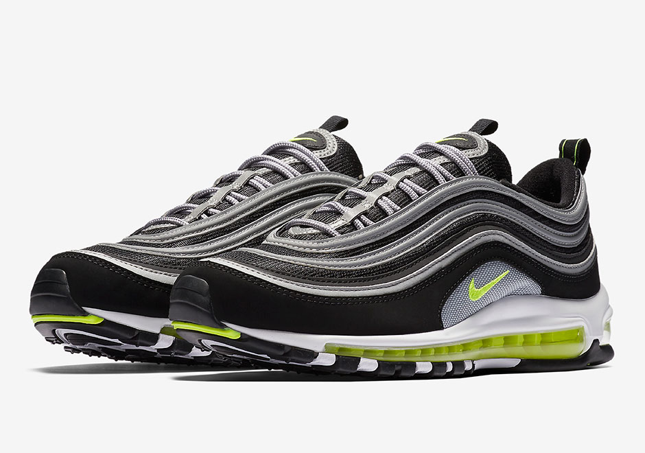 nike air max 97 ultra trainers in black