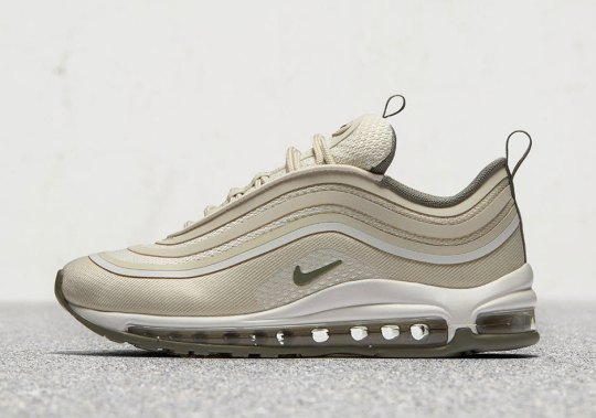 "The Nike Air Max 97 Ultra '17 ""Ivory"" And ""Triple Black"" Release Next Week"