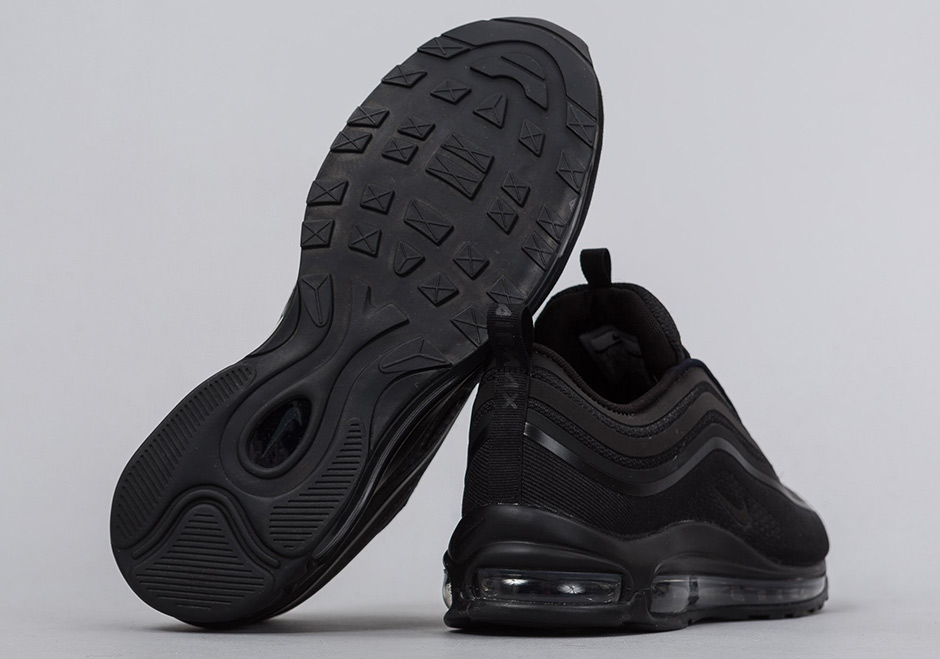Dibujar Varios aerolíneas  Nike Air Max 97 Ultra Triple Black 918356-002 | SneakerNews.com