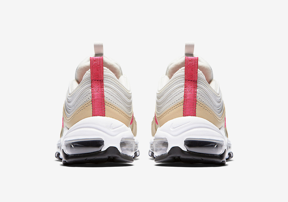 nike air max 97 pink and tan