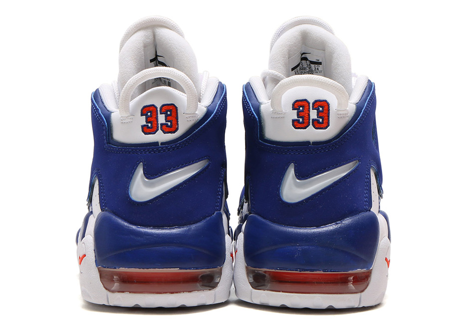 new style 9ffc6 eedd0 Nike Air More Uptempo Knicks   The Dunk Release Date 921948-101 ...
