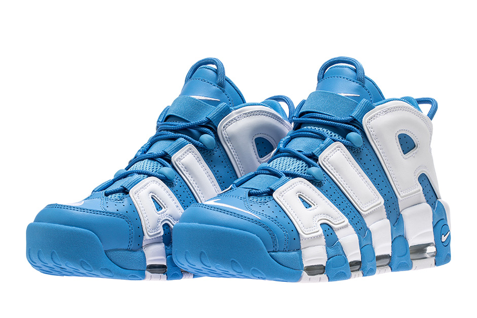 """The Nike Air More Uptempo continues to release some head-turning new  colorways throughout the year. While the """"Tri-Color"""" offering was a bit  polarizing abbfa8e0bf"""