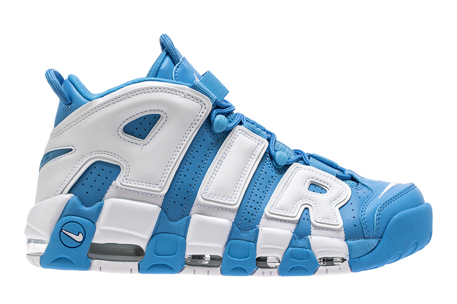 """size 40 b13d9 abef5 Nike Air More Uptempo """"UNC"""" Release Date  September 1st, 2017  160. Color  University  Blue White"""