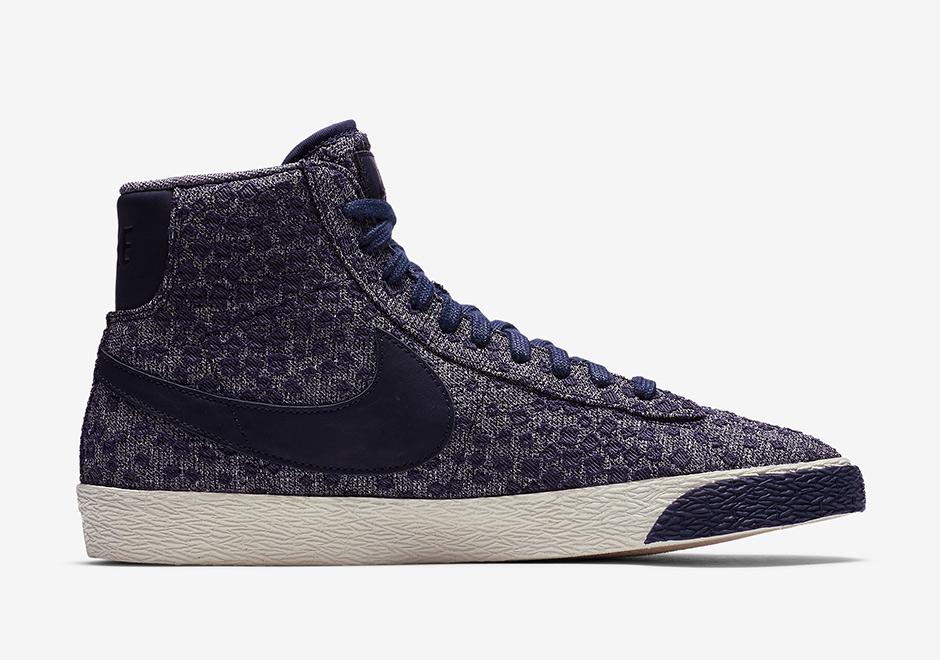 Nike Chaussures Blazer Mi Textiles Nouvelles