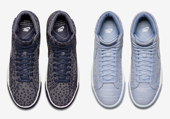 The Nike Blazer Mid Premium Brings In New Patterns For Fall