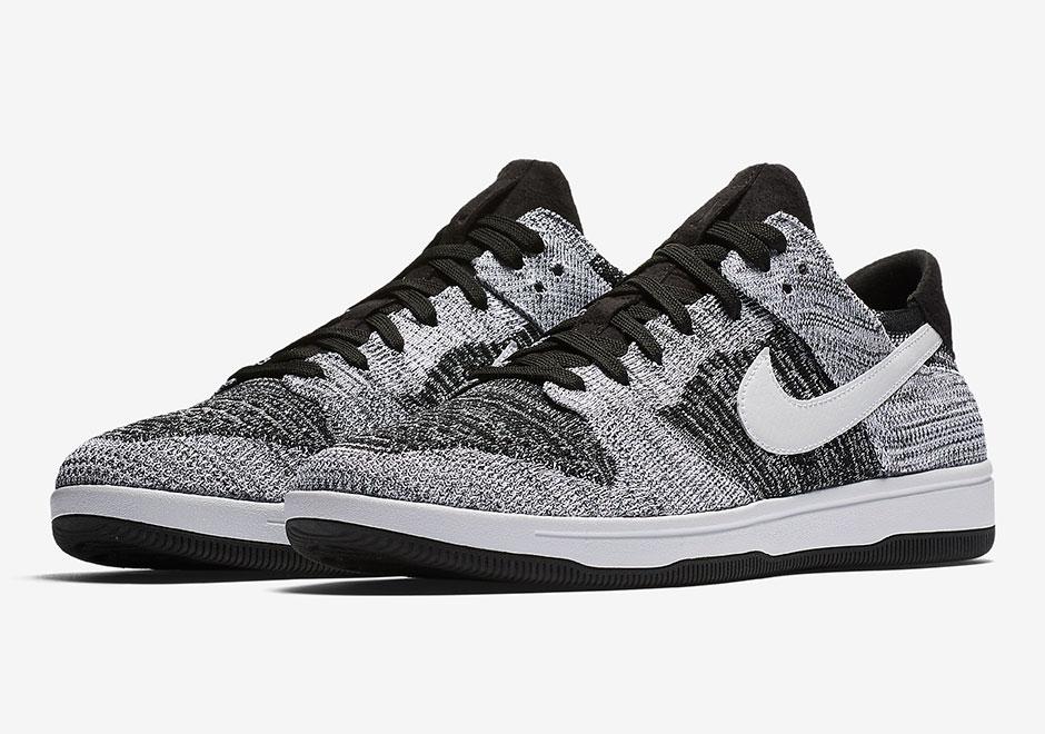 best service c86d3 e5fd0 Nike Dunk Low Flyknit Oreo 917746-003 | SneakerNews.com