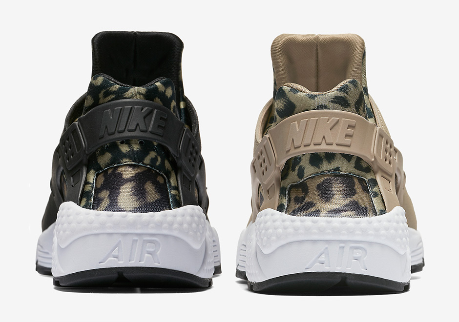 nike women sportswear air huarache run ultra gold leopard