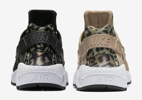Leopard Prints Hit The Nike Air Huarache For Women