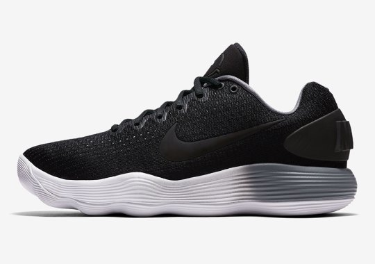 Nike REACT Hyperdunk 2017 Low Features Gradient Midsoles