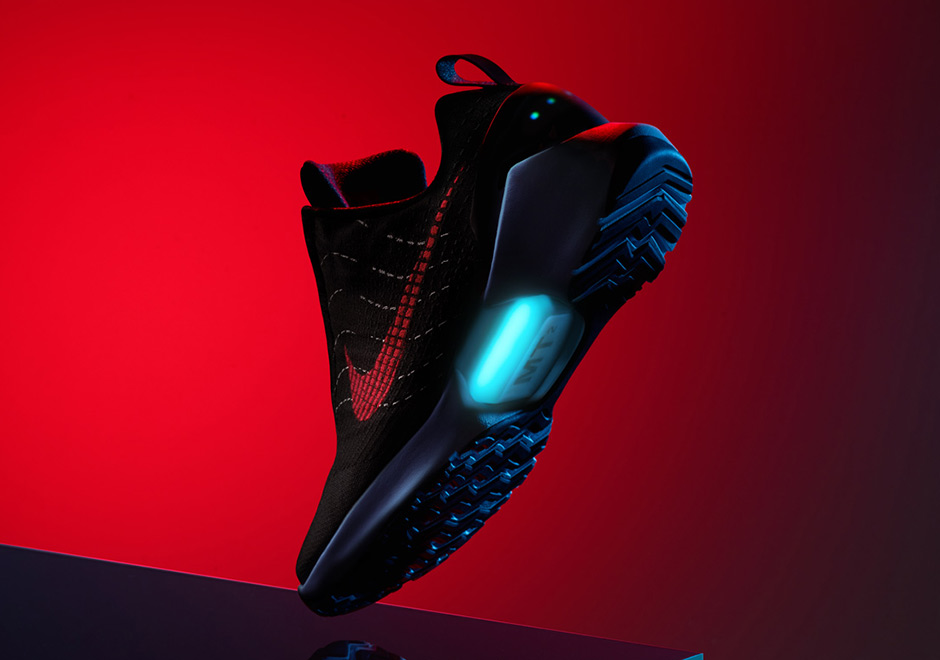"separation shoes c124b ec11d Nike HyperAdapt 1.0 ""Red Lagoon"" Releases Friday On Nike SNKRS Draw"