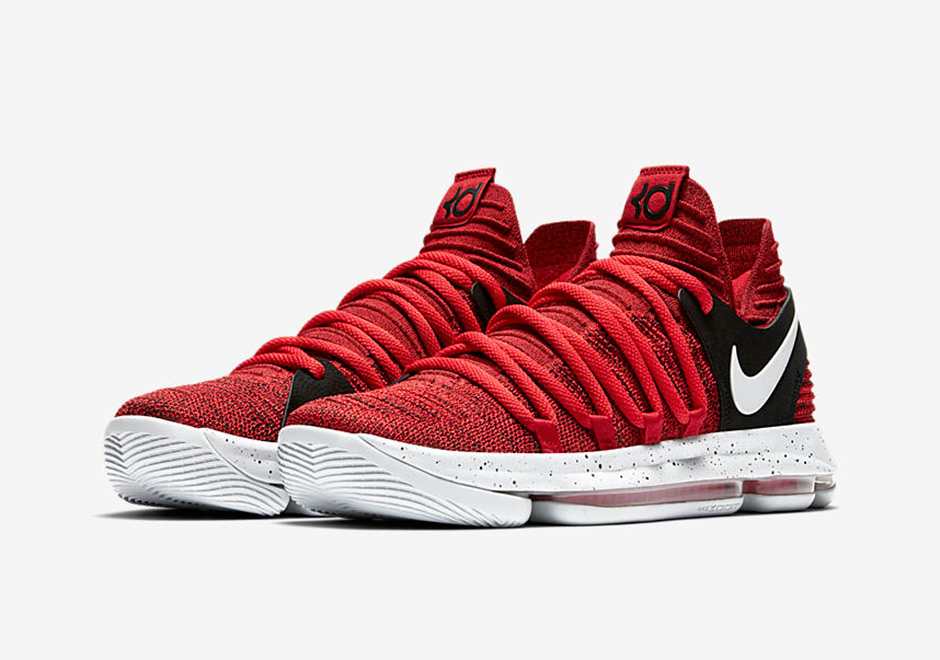 Nike Kd 10 Red Velvet 897816 600 Sneakernews Com