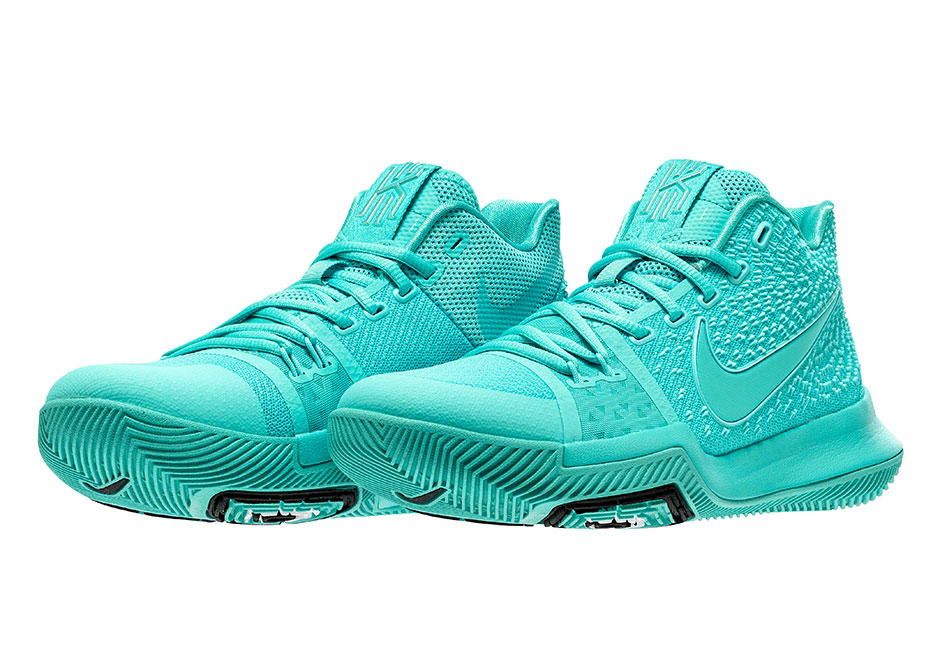 new style 5fd75 3deb3 Nike Kyrie 3 Aqua Release Date 852395-401 Adult Sizes ...