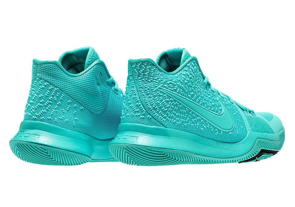 Nike Kyrie 3 Aqua Release Date 852395 401 Adult Sizes